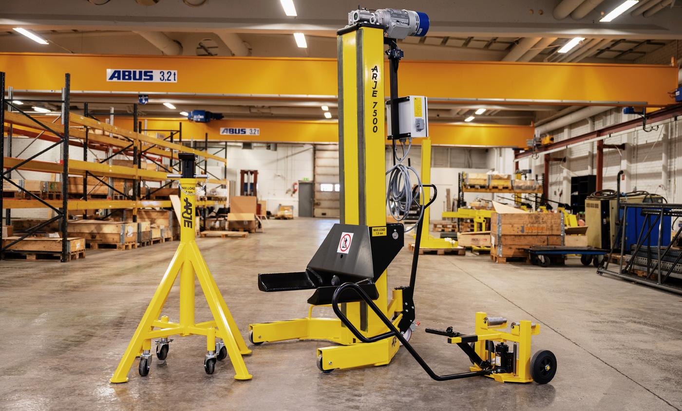 Fordonslyft Arje 7500B - Arje Lifting Systems AB